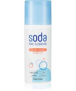 Holika Holika Soda masca pentru curatare profunda impotriva imperfectiunilor pielii cauzate de acnee HLKSODW_KMSK06