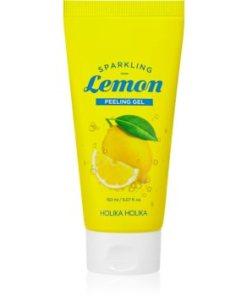 Holika Holika Sparkling Lemon gel exfoliant de curatare HLKSLMW_KMUR02