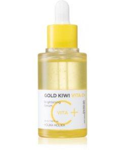 Holika Holika Gold Kiwi ser stralucire cu vitamina C impotriva petelor HLKGLKW_KSER01