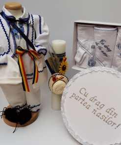 Set Botez Traditional Raul 17 - 4 piese - 9-12 luni