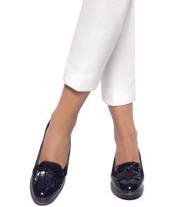Pantofi dama Arrive cu fundita Bleumarin
