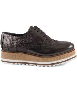 Pantofi femei Luca di Gioia negri din piele 2699DP3573N 16924