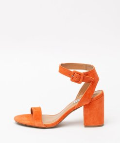 Sandale din piele intoarsa - cu toc masiv Malia 2808488