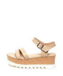 Sandale wedge de piele Keykey 1917007