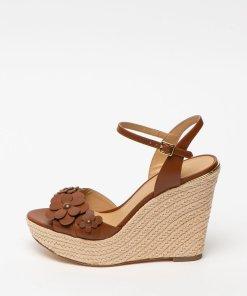 Sandale wedge de piele Flora 2696216