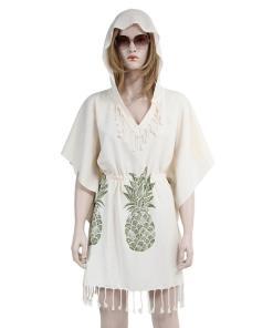 Rochie de plaja dama Peshtemal Pineapple 1.00E+06