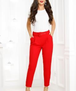 Pantaloni Lindy Red