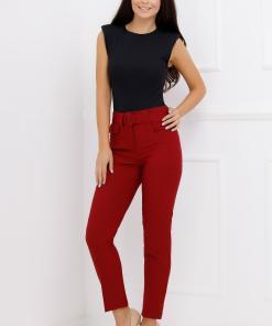 Pantaloni Tamara Bordo