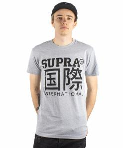 Tricou Int Characters SS grey heather