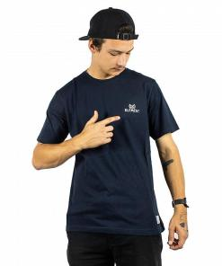 Tricou In The Owl SS eclipse navy