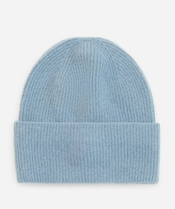 Reserved - Căciulă din tricot striat - Albastru
