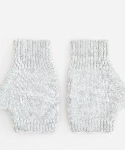 Reserved - Mănuși fără mâneci - Gri deschis