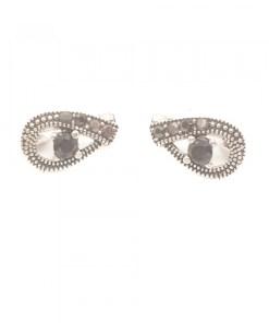 Cercei din argint Black Eyes CAG093