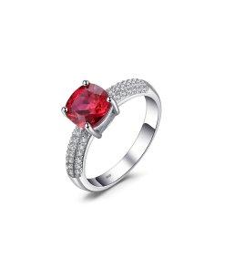 Inel din argint Perfect Ruby