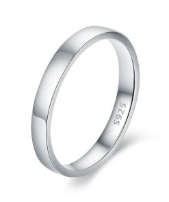 Inel din argint Simple Band Ring