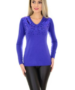 Pulover Bunch Of Sparkles Royal Blue