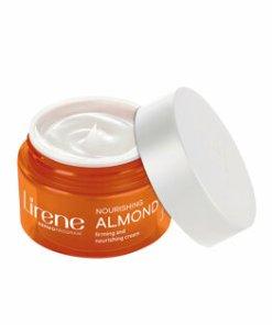Crema nutritiva antirid zi/noapte cu migdale, 30+, Lirene, 50 ml