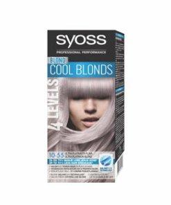 Vopsea de par permanenta Syoss Color Baseline, 10-55 Ultra Platinum Blond, 115 ml