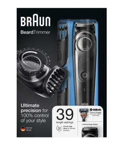 Aparat de ras si tuns Braun BT 3040, 39 setari lungime, reglaj Precision Dial, indicator LED