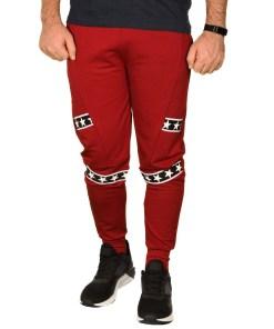 Pantaloni de trening bordo Stars - cod 38957