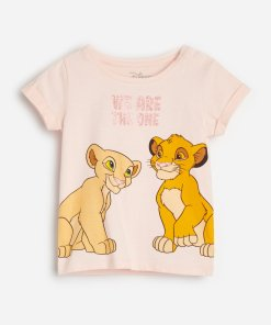 Reserved - Tricou Lion King, din bumbac -