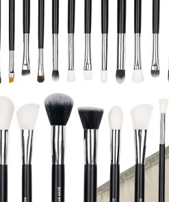 Set 20 pensule machiaj Perfect Make-Up + Borseta Bej CADOU