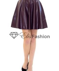 Fusta Leather Beauty Purple