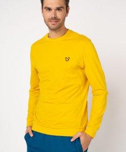 Bluza sport din material ce nu retine umezeala cu decolteu la baza gatului 3187981