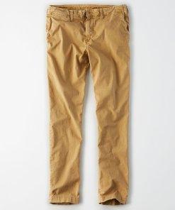 Pantaloni chino cu buzunare laterale 2724534