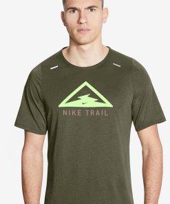 Tricou cu tehnologie Dri-FIT si imprimeu grafic - pentru alergare Rise 365 3007311