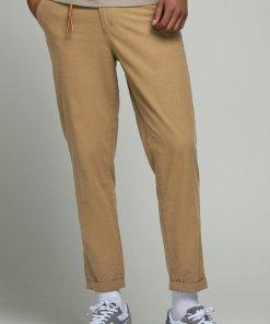 Pantaloni chino cu buzunare oblice 2856841