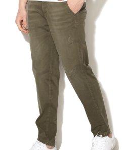Pantaloni chino cu aspect usor uzat Nico 1907498