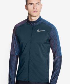 Bluza cu fermoar si fente pentru degetul mare - pentru alergare 3111367