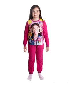 Pijama fete Soy Luna In Your Way fucsia