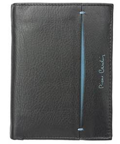 Portofel barbati din piele naturala Pierre Cardin GPB378 - cu Protectie RFID Negru/Albastru