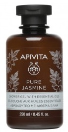 Apivita Pure Jasmin Gel De Dus 250ml