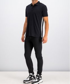 Tricou polo Calvin Klein Jeans J30J313179 Bleumarin