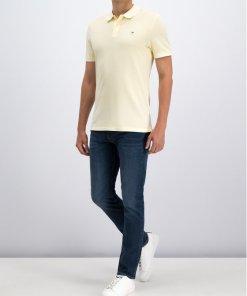 Tricou polo Calvin Klein Jeans J30J313566 Bej