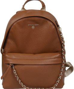 Michael Kors Slater Medium Backpack In Brown Brown