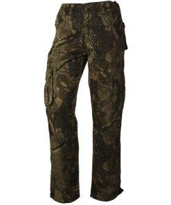 Loshan Leafy pantaloni izolați bărbați model Real tree