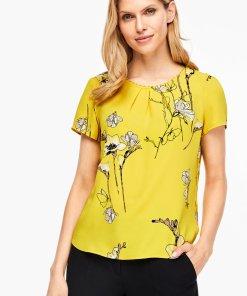 Tricou lejer cu imprimeu floral 2629119