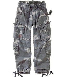 Pantaloni Surplus Vintage, night-camo
