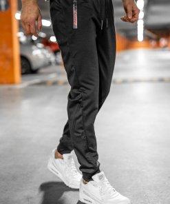 Pantaloni de trening negri Bolf JX9515