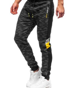 Pantaloni de trening negri Bolf K60001