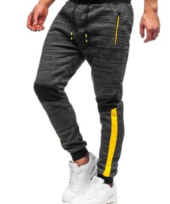 Pantaloni de trening negri Bolf K60013