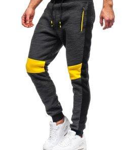 Pantaloni de trening negri Bolf K60021
