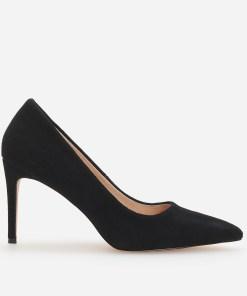 Reserved - Pantofi de piele cu toc - Negru