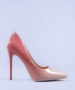 Pantofi stiletto Eleftheria roz