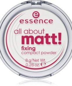 Essence All About Matt! pudră transparentă compactă ESSALMW_KPWD10