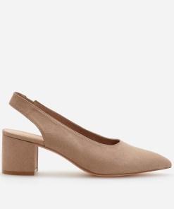 Reserved - Pantofi cu călcâi descoperit - Bej